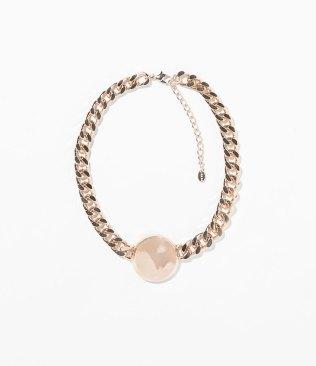 Cadena con perla de Zara