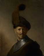 Rembrandt Harmensz_An Old Man in Military Costume C1630-31