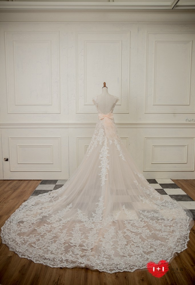 手工婚紗推薦:女神系禮服