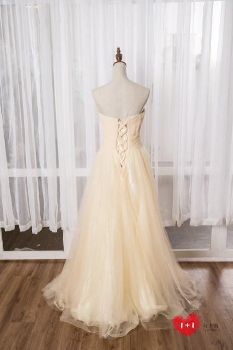 手工婚紗推薦:至愛之美晚禮服