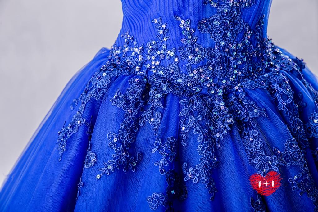 手工婚紗:極簡奧黛莉晚禮服
