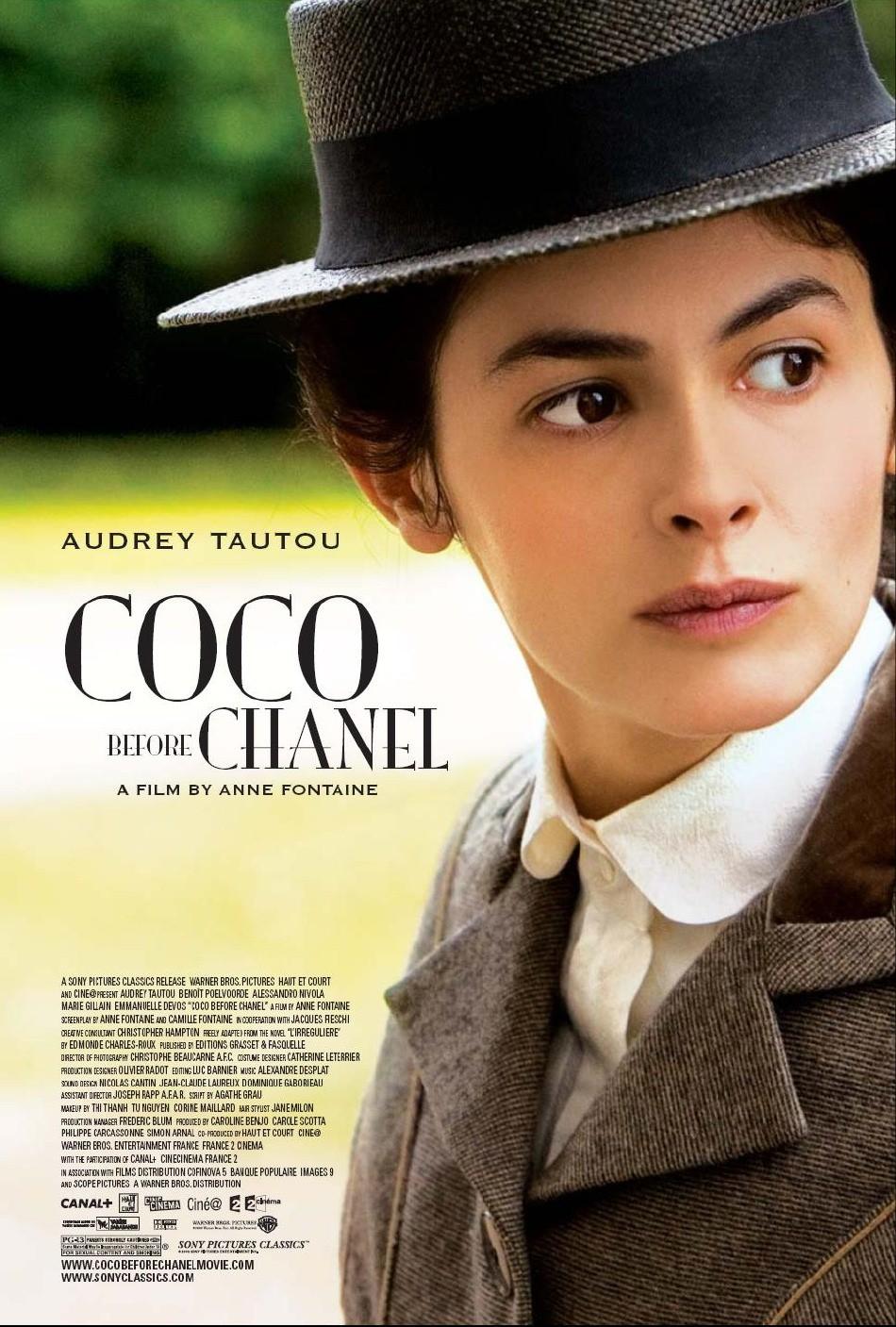 Poster do filme Coco Antes de Chanel