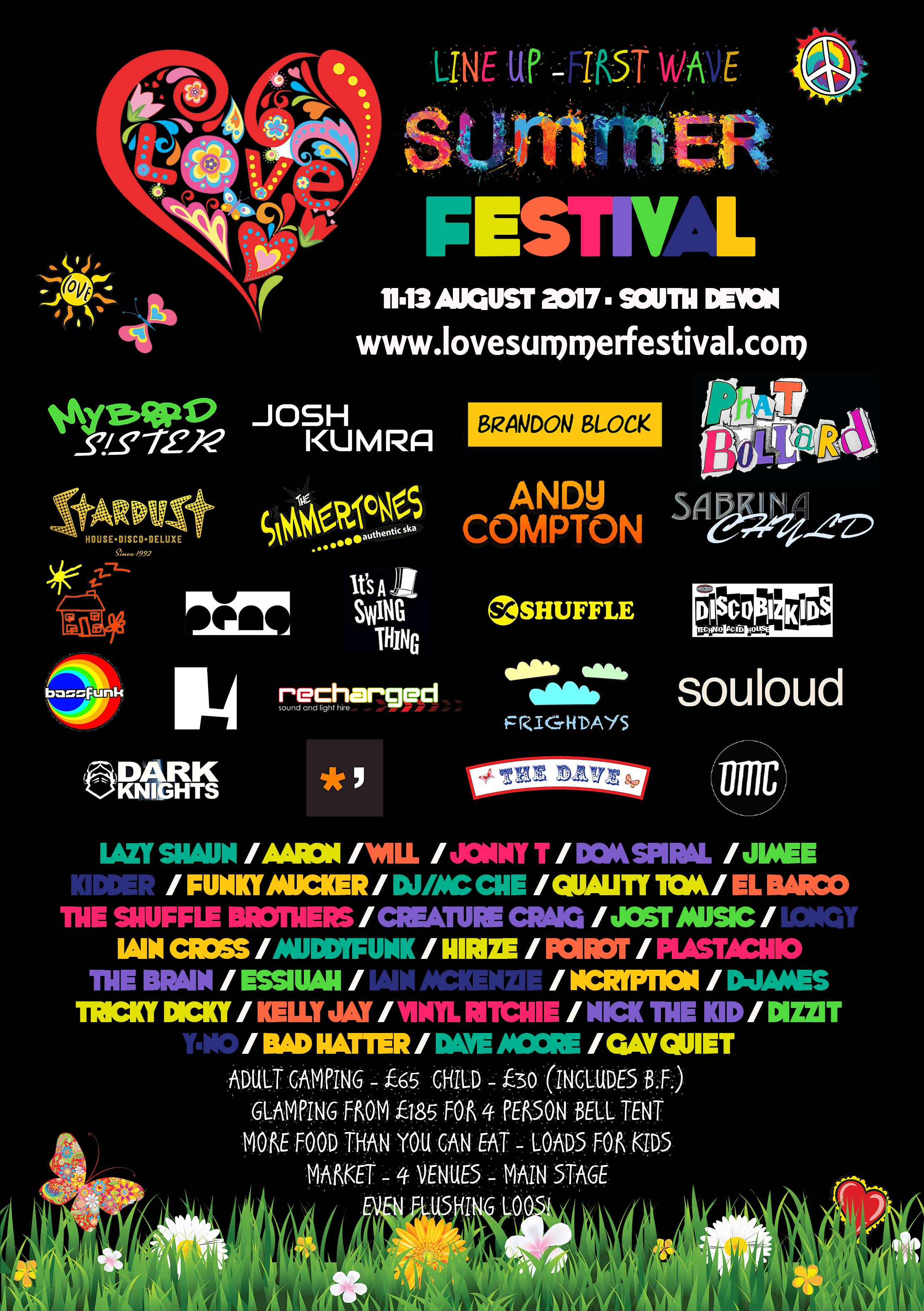 Love Summer Festival 2017 U2013 First Wave Line Up