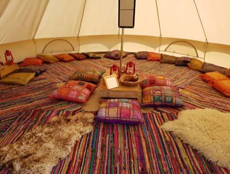 Festival | Glamping | Devon | Bell Tent | Love Summer