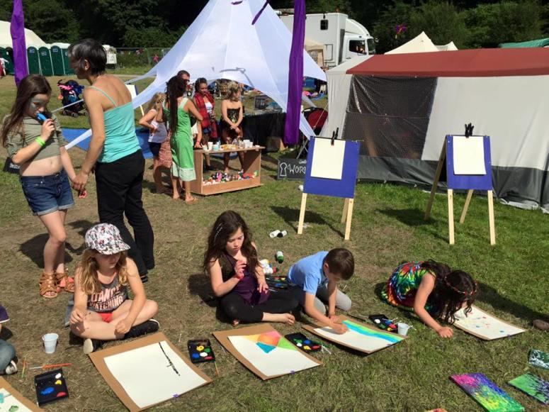 Love Summer Festival - Workshops - Art 19