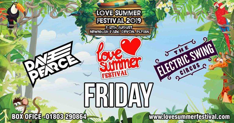Love Summer Festival 2019 - Friday Header
