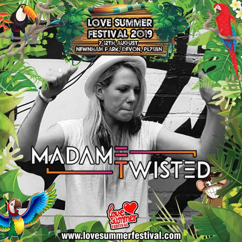 Love Summer Festival | Madame twisted Square