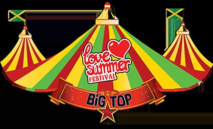 Love Summer | Festival | Big Top | Logo