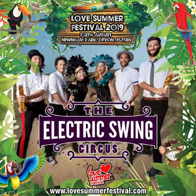 Electric Swing Circus Tile