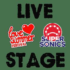 Love Summer Festival Live Stage Logo