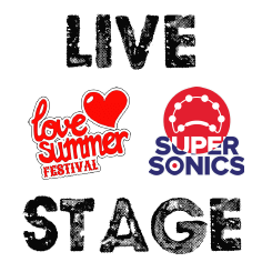 Love Summer Festival Live Stage Logo