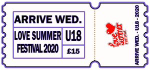 Love Summer Festival | Festival | Arrive Early | U18 | Wednesday