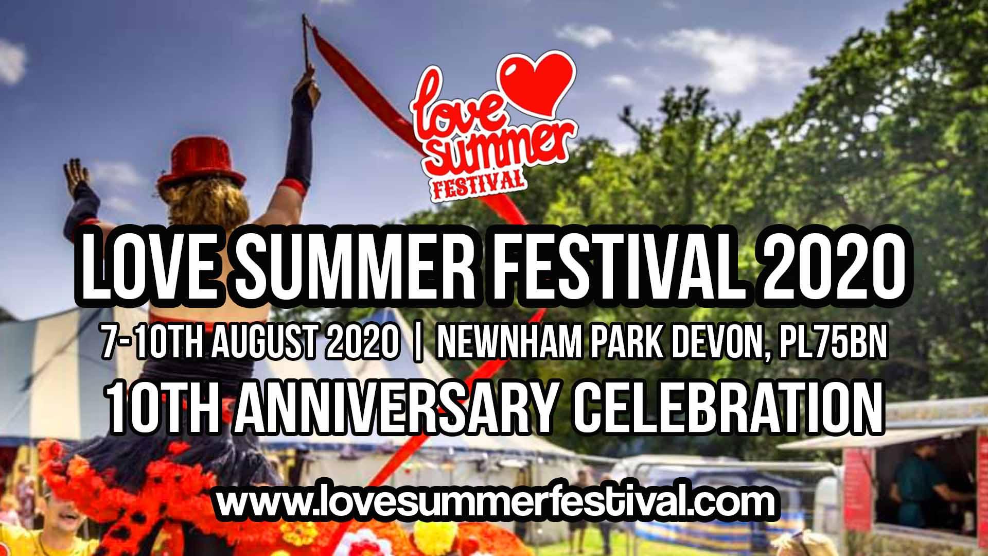 Love Summer Festival 2020 Flyer
