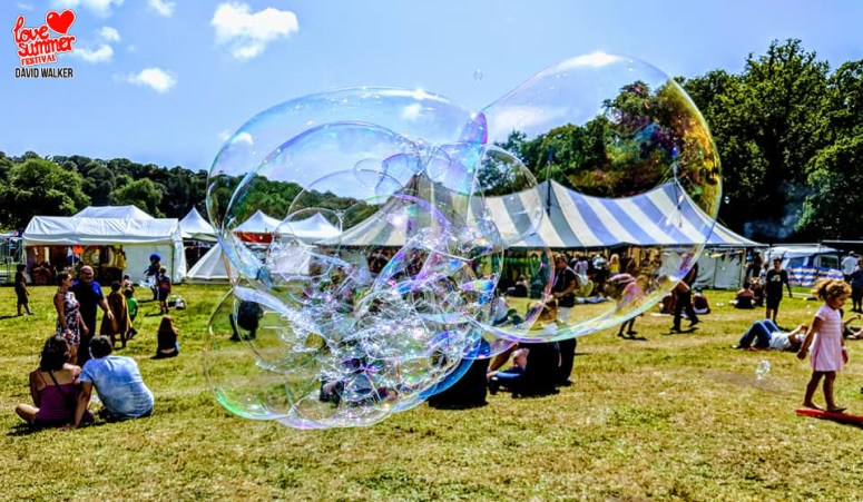 Festival | The Big Top | Love Summer Festival 2019 | Bubbles