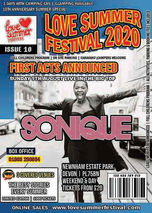 Sonique | Festival | Plymouth | Flyer