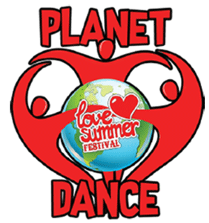 Planet Dance | Logo | Festival Devon | Love Summer