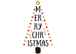 free svg cut file merry christmas
