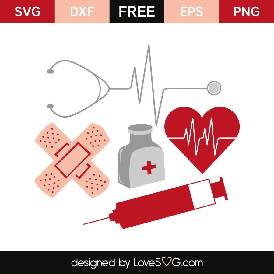 Download Nurse elements | Lovesvg.com