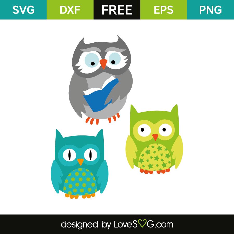 Download Owls Design | Lovesvg.com