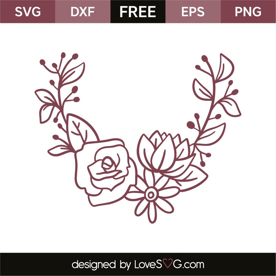 Download Flowers   Lovesvg.com