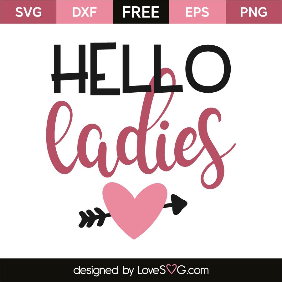 Download Hello ladies | Lovesvg.com