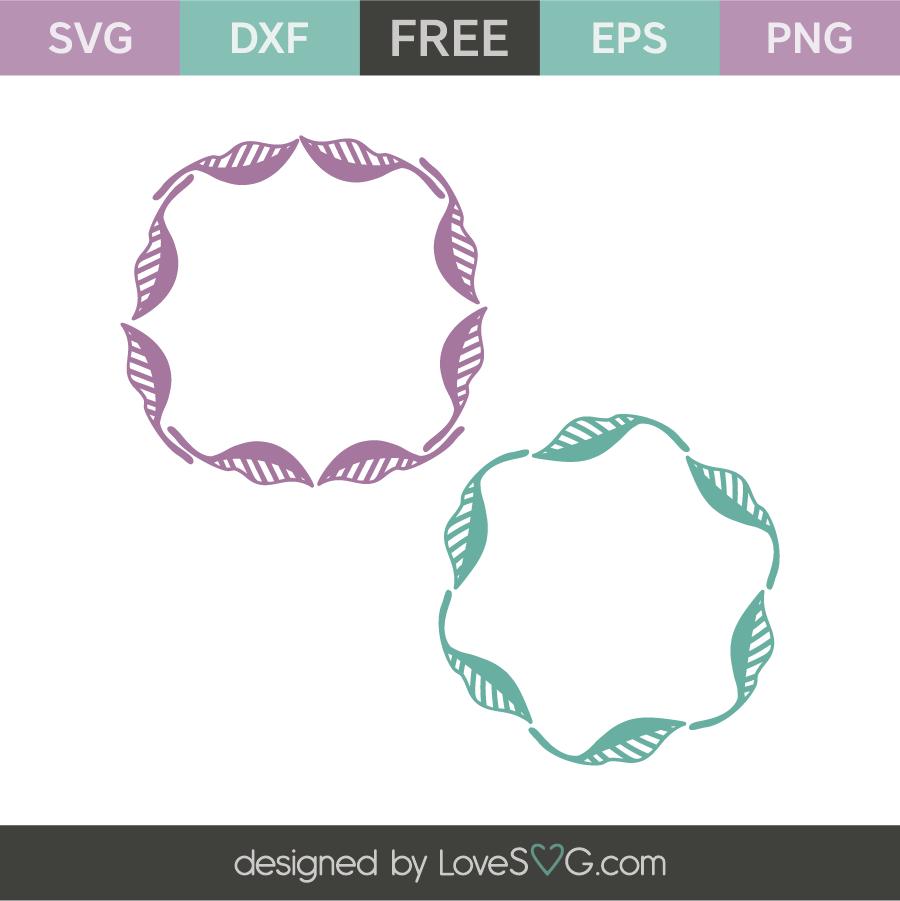 Download Monogram Frames | Lovesvg.com