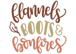 Flannels boots bonfires
