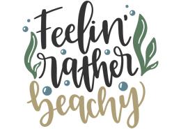 Feelin' rather beachy