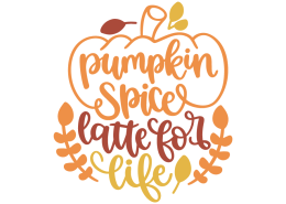 Pumpkin spice latte for life