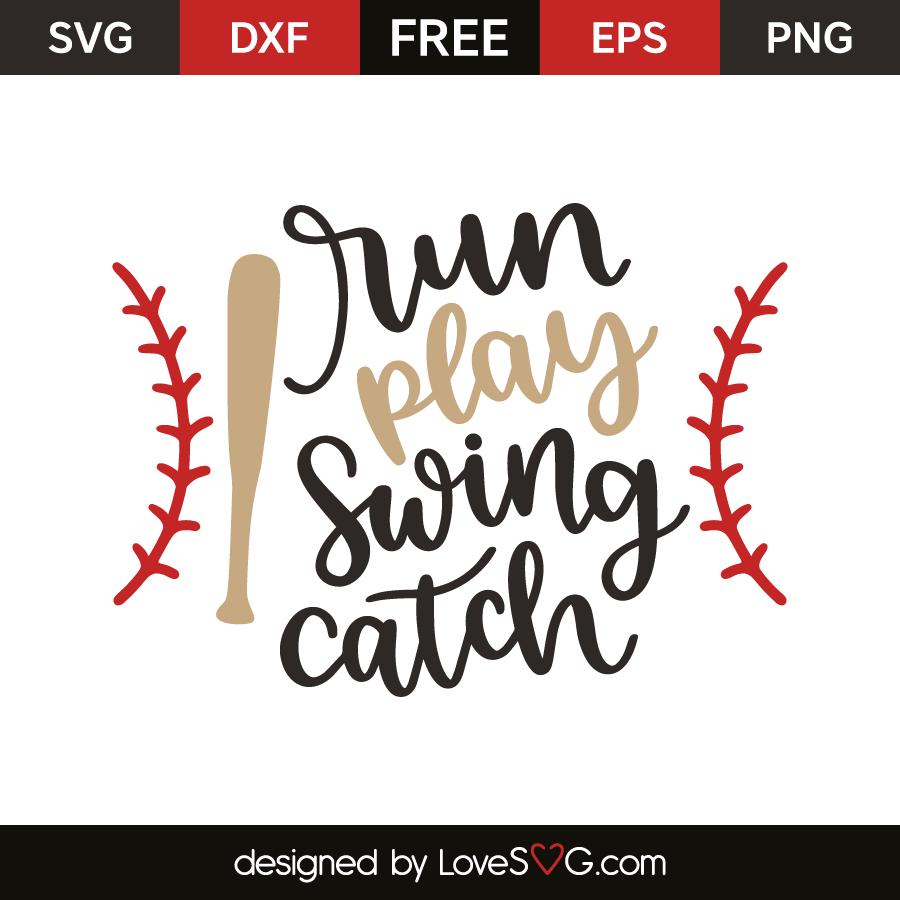 Run play swing catch