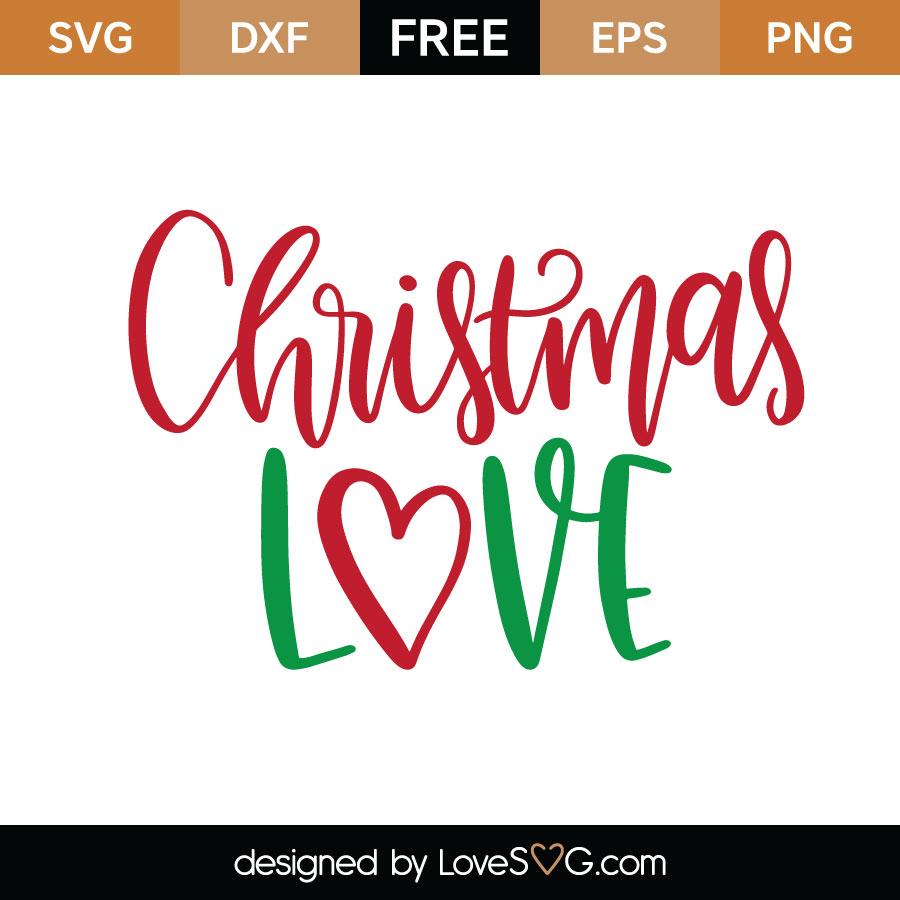 Download Christmas Love - Lovesvg.com