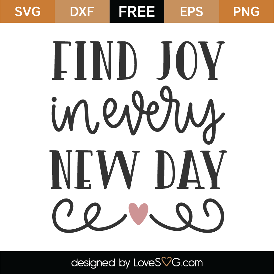 Download Free Find Joy SVG Cut File - Lovesvg.com