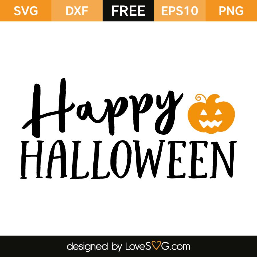 Download Happy Halloween - Lovesvg.com