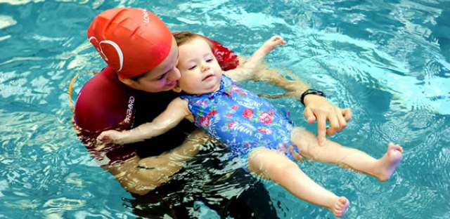 Image result for babies swimming