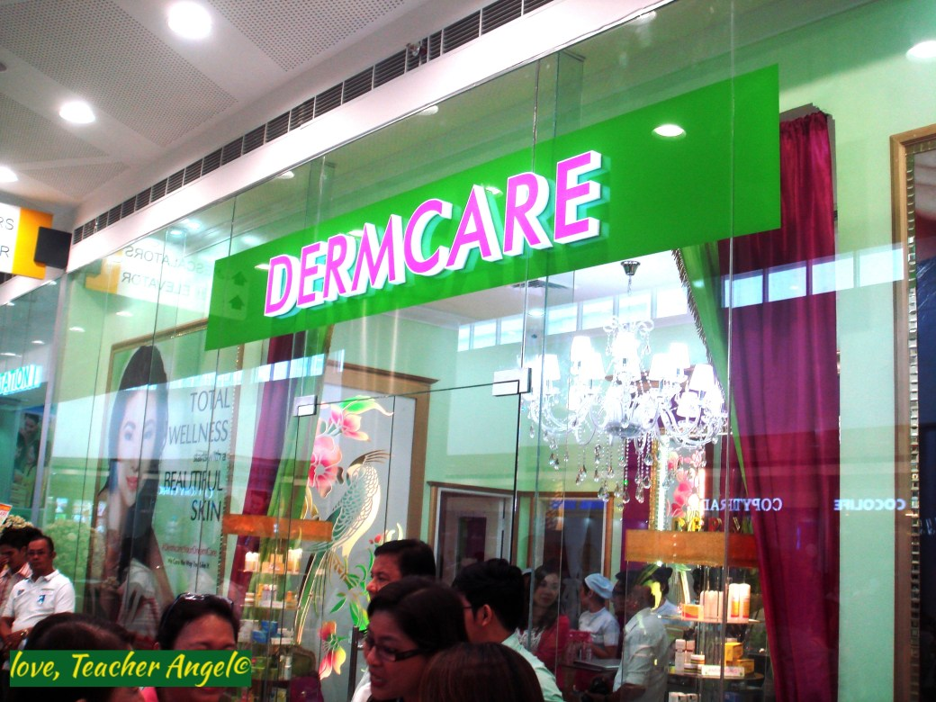 "Teacher Beauty Finds: The Finest in Skin Care ""Dermcare"" opens at SM San Mateo"