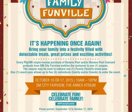Teacher's OOTD: Celebrate Family Time at Banana Peel Family Funville