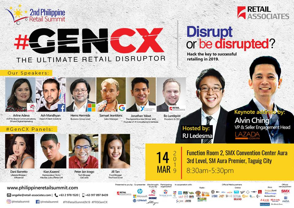 "Teacher Insights: New Generation Ahead at the 2nd Philippine Retail Summit (PRS) ""#GenCX: The Ultimate Retail Disruptor"""