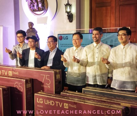 Teacher Insights: LG Philippines handed over Six LG TV's to Museo de Intramuros