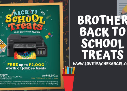 """Geeky and Techie: It's Raining Treats at Brother's """"Back to School"""" Promos"""