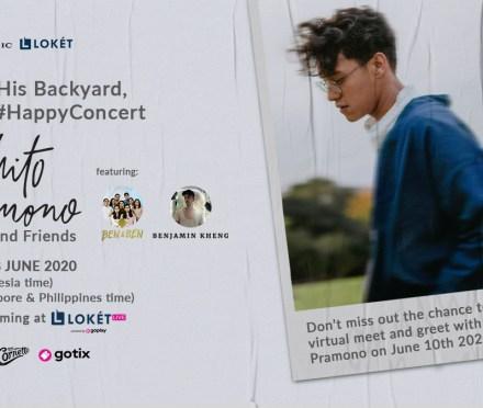 Pop-jazz sensation Ardhito Pramono invites Ben&Ben as special guests for digital concert