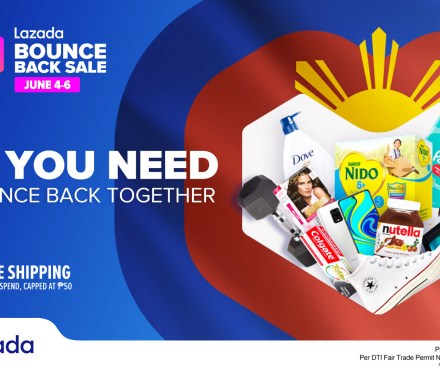 Lazada Bounce Back Sale