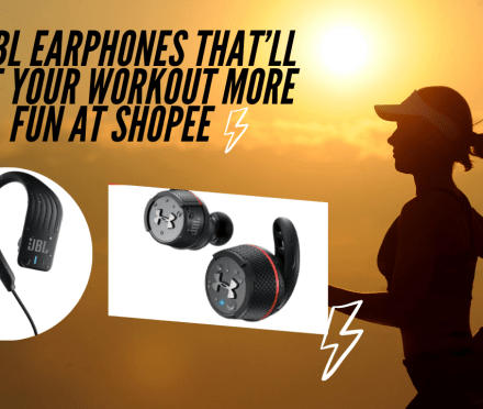 The Best-Selling JBL Earphones that'll Make your Workout more Fun, Made Available at Shopee