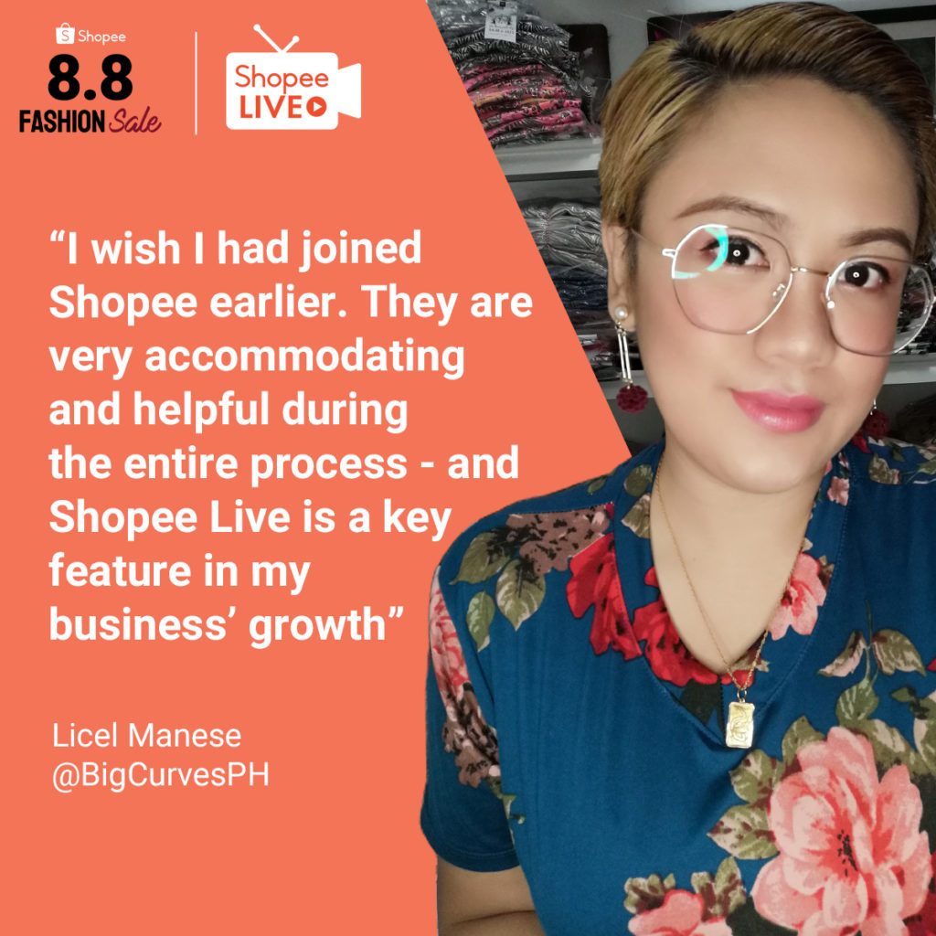 How Shopee Live Help Three Fashion Sellers Succeed their way to Online Business Growth