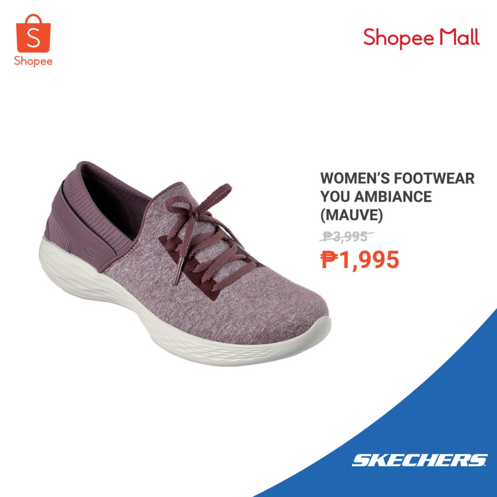 Upgrade your Shoe Fashion with Skechers at Shopee's 8.8 Fashion Sale