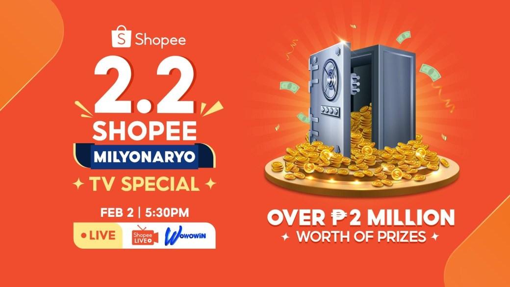 Shopee 2.2 Milyonaryo TV Special