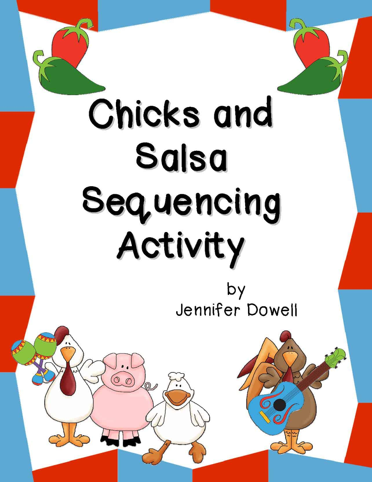 Cinco De Mayo Activities Chicks And Salsa Sequencing