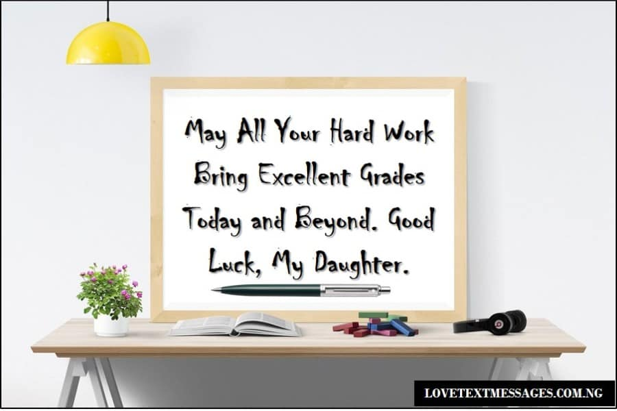 Exam success wishes for your daughter love text messages exam success wishes for your daughter m4hsunfo