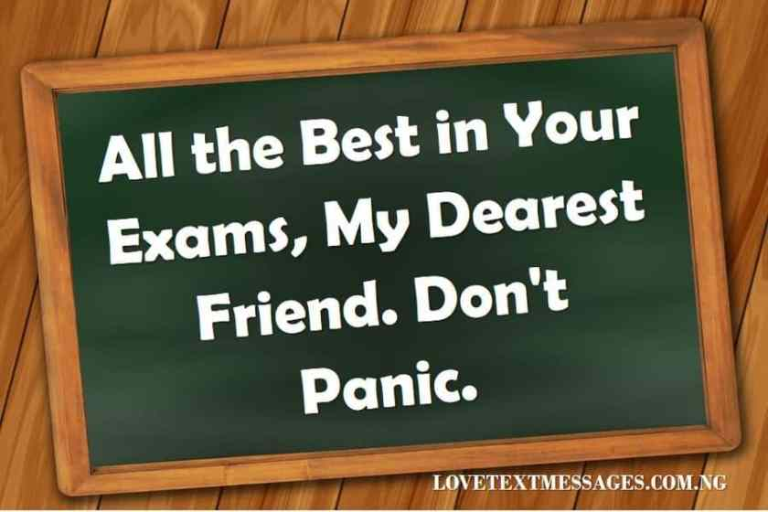Exam Wishes