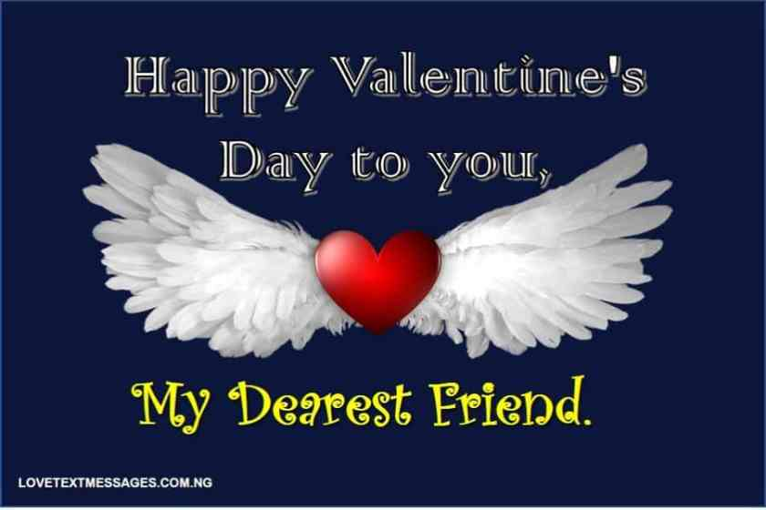 Happy Valentine's Day Messages for Friend