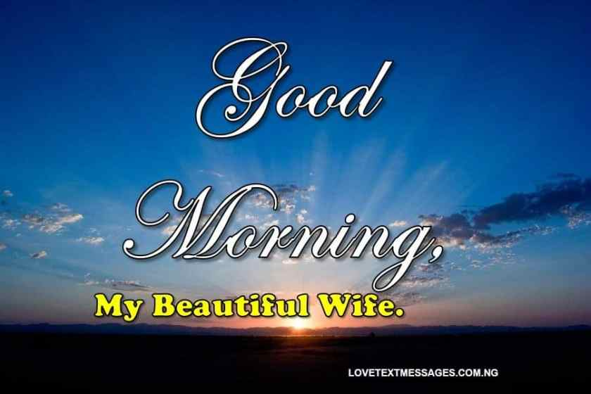 100 Romantic Good Morning Messages to My Wife - Love Text